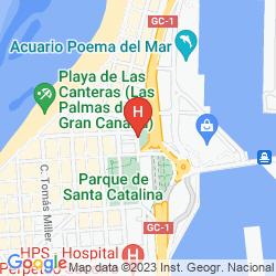 Map AC HOTEL GRAN CANARIA BY MARRIOTT