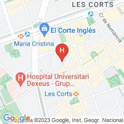 Map APARTHOTEL ATENEA BARCELONA