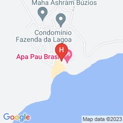 Map TRAVEL INN APA PAU BRASIL