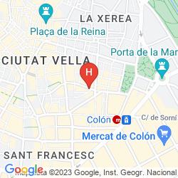 Map PENSIÓN PARÍS
