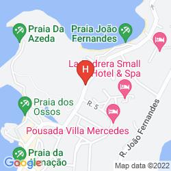 Map AZEDA BOUTIQUE HOTEL