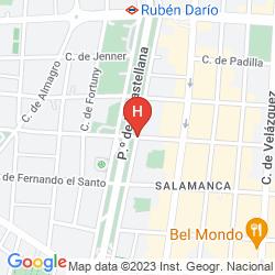 Map VILLA MAGNA