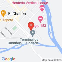 Map SENDEROS HOSTERIA
