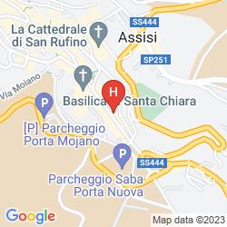 Map BELVEDERE