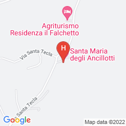 Map SANTA MARIA DEGLI ANCILLOTTI