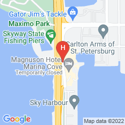 Map MAGNUSON HOTEL MARINA COVE