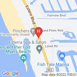 Map WYNDHAM GARDEN FORT MYERS BEACH
