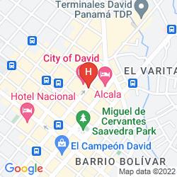 Map CIUDAD DE DAVID HOTEL & BUSSINESS