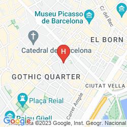 Map MERCER HOTEL BARCELONA