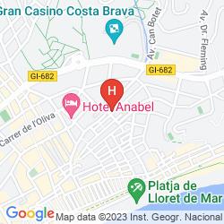 Map APARTAMENTOS AR DALIA