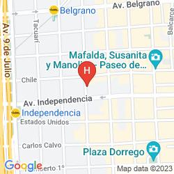 Map PATIOS DE SAN TELMO