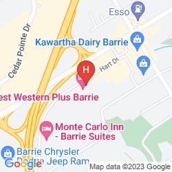 Map BEST WESTERN ROYAL OAK INN