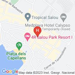 Map SANTA MONICA PLAYA