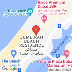 Map HILTON DUBAI THE WALK