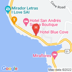 Map ON VACATION BLUE COVE ALL INCLUSIVE