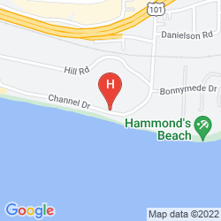 Map FOUR SEASONS RESORT THE BILTMORE SANTA BARBARA