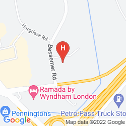 Map HOMEWOOD SUITES BY HILTON LONDON ONTARIO