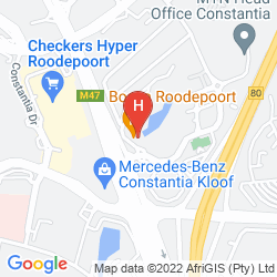 Map PROTEA HOTEL ROODEPOORT