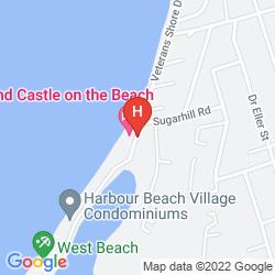 Map SAND CASTLE ON THE BEACH