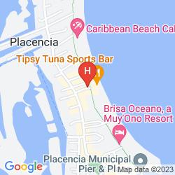 Map ROBERTS GROVE BEACH RESORT