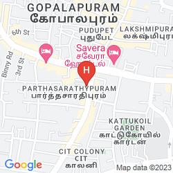 Map RAMADA RAJ PARK