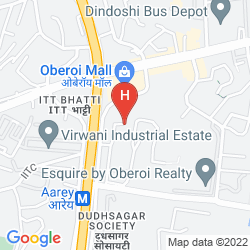 Map THE WESTIN MUMBAI GARDEN CITY