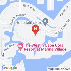 Map THE WESTIN CAPE CORAL RESORT AT MARINA VILLAGE