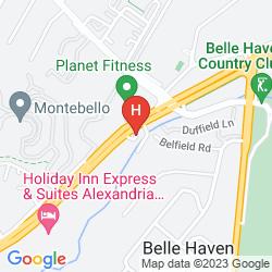 Map RED ROOF PLUS ALEXANDRIA