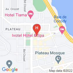 Map APPART HOTEL IVOTEL