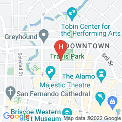 Map THE ST. ANTHONY, A LUXURY COLLECTION HOTEL, SAN ANTONIO
