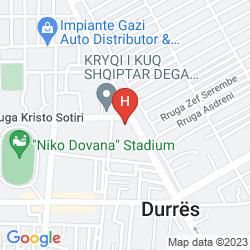 Map DOLCE VITA HOTEL
