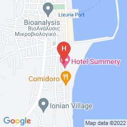Map POSEIDON HOTEL