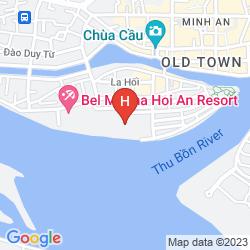 Map VINH HUNG RIVERSIDE RESORT & SPA