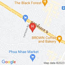 Map THE KOOL HOTEL