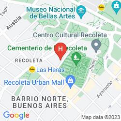 Map SILEO HOTEL