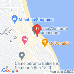 Map MERCURE CAMBORIU