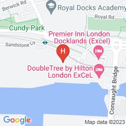 Map ALOFT LONDON EXCEL
