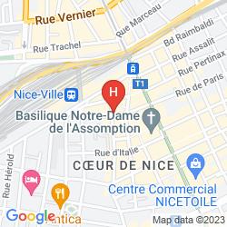 Map SAINT GOTHARD
