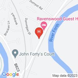 Map B&B - KERRAN GUEST HOUSE