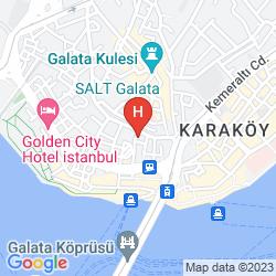 Map GALATA LA BELLA HOTEL