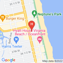 Map KNIGHTS INN AND SUITES VIRGINIA BEACH ON  THE 29th ST