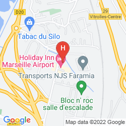 Map GOLDEN TULIP MARSEILLE AIRPORT