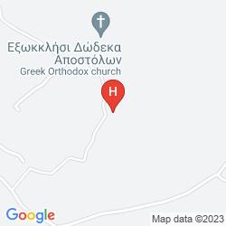 Map KERMIA BEACH BUNGALOW HOTEL