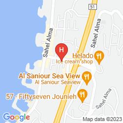 Map RIVOLI PALACE HOTEL