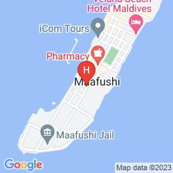 Map ARENA LODGE MALDIVES