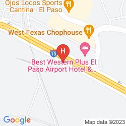 Map HOMEWOOD SUITES BY HILTON EL PASO AIRPORT
