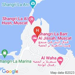 Map SHANGRI-LA BARR AL JISSAH RESORT & SPA - AL BANDAR