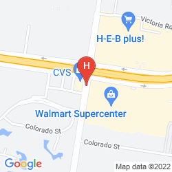Map HOLIDAY INN EXPRESS MISSION MCMALLEN