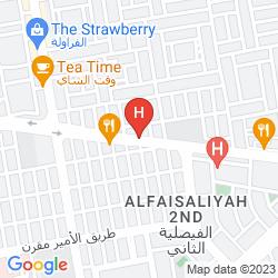 Map CORAL PLAZA AL AHSA