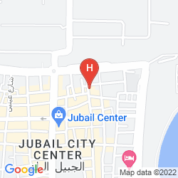 Map CORAL BEACH HOTEL JUBAIL